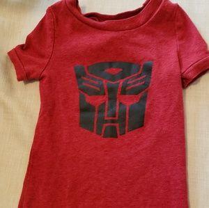 Transformer Toddler Boys Shirt